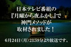 日本テレビの番組「月曜から夜ふかし」に取材されました!