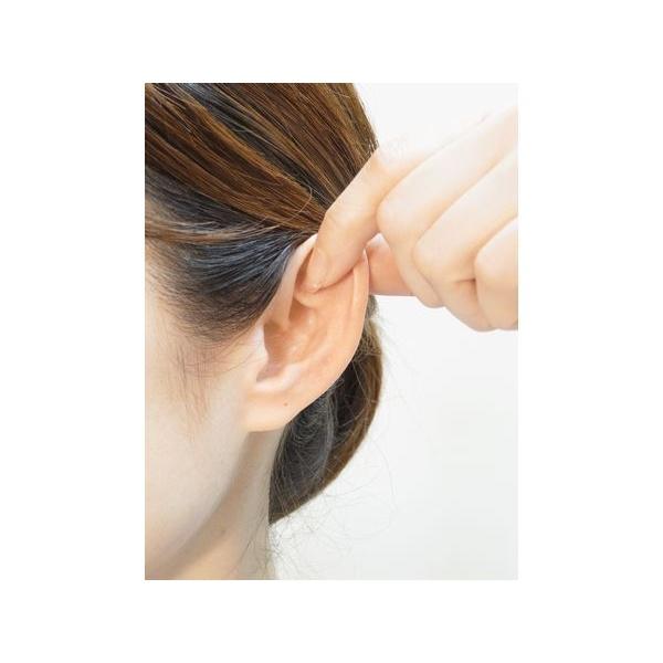 画像1: 耳ひっぱりのやり方(下部に動画解説アリ)